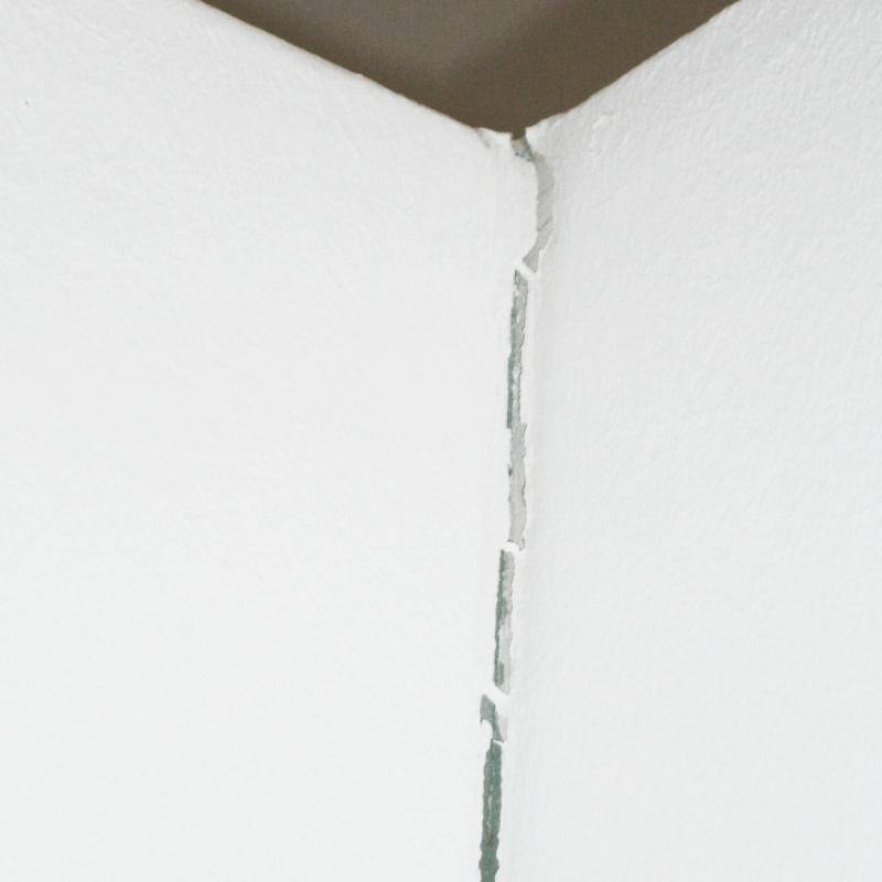 Baumangel Riss im Mauerwerk