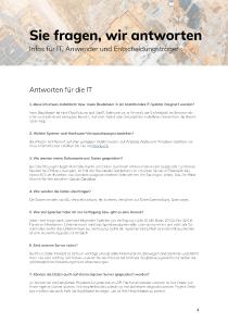 FAQ Checkliste Einführung
