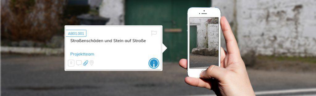 Beweissicherungsverfahren per Smartphone